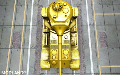 Pzkpfw VII shiny gold skin (made for SD client) 5 [1.2.0]